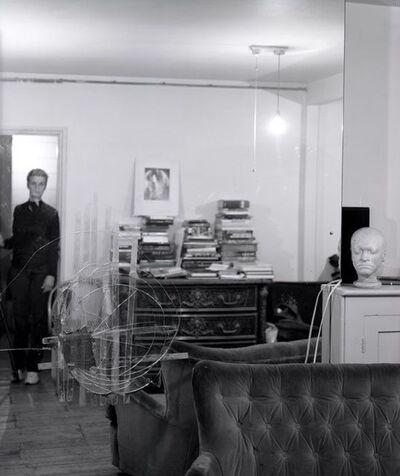 Linda McCartney, 'Self-Portrait, Francis Bacon's Studio, London', 1997