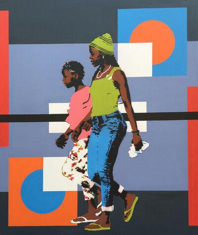 RICARDO KAPUKA, 'Young mother and child', 2019