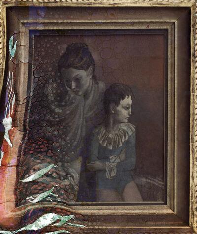 Wolfgang Ganter, 'Picasso, Mutter mit Kind (Gaukler)', 2012
