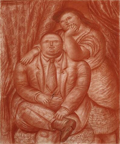 Fernando Botero, 'A couple ', ca. 1973