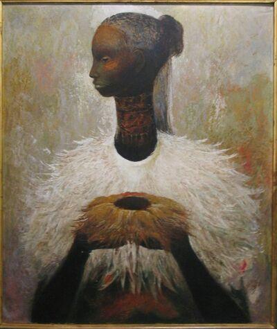 Guillermo Meza, 'Sin título (retrato)', 1958