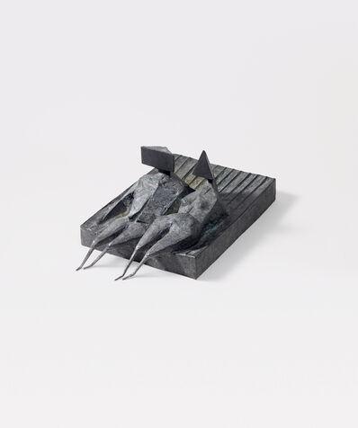 Lynn Chadwick, 'Two lying figures on base', 1974
