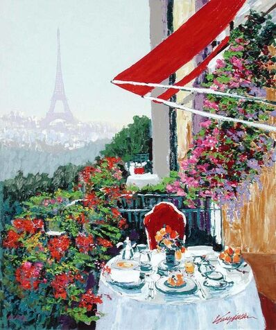 Kerry Hallam, 'Paris Sunrise', 2002