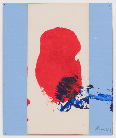 Robert Motherwell, 'Red, White, and Blue No. 1', 1966