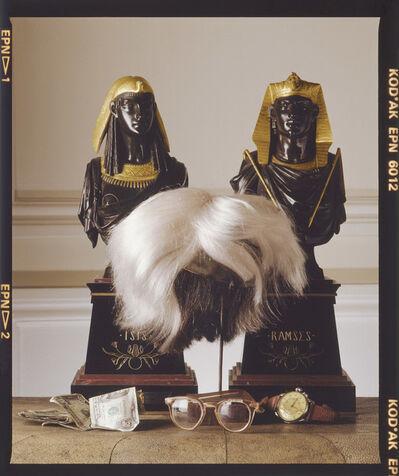 David Gamble, 'Andy Warhol Wig and Glasses, 4 Variations', 1987