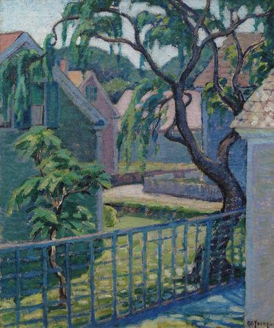 Gladys G. Young, 'Backyard Scene'