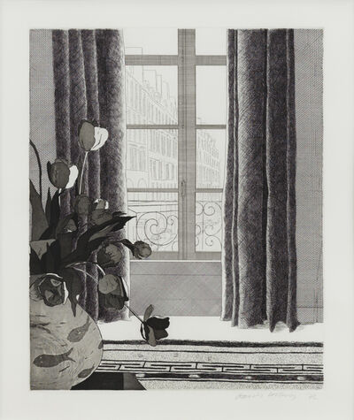 David Hockney, 'Rue de Seine', 1972