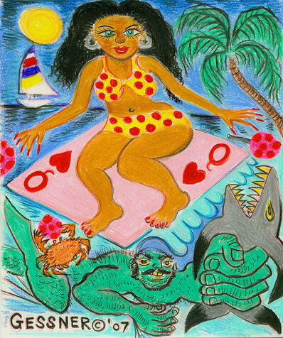 Richard Gessner, 'Columbian Surf Goddess with Strongman', 2007