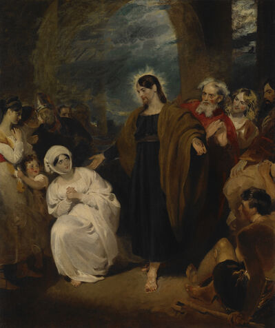 George Henry Harlow, 'The Virtue of Faith', 1817