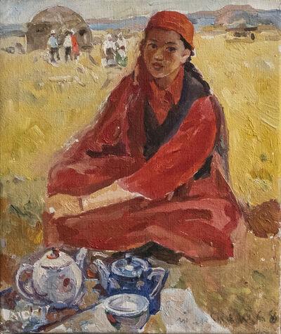 Karl Tanpeter, 'Tea', 1961