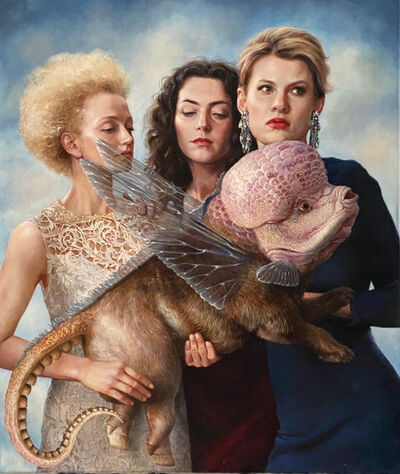 AES+F, 'Ladies with Chimera', 2020