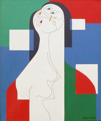 Hildegarde Handsaeme, 'Trio', 2003