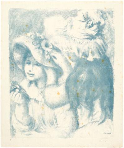 Pierre-Auguste Renoir, 'Le chapeau épinglé', 1898