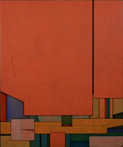 Gunther Gerzso, 'Rojo-Azul-Naranja', 1970