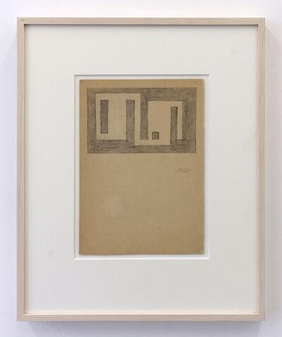 Julije Knifer, '43', 1960