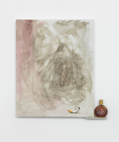 Monika Baer, '3 bad habits (3d)', 2013