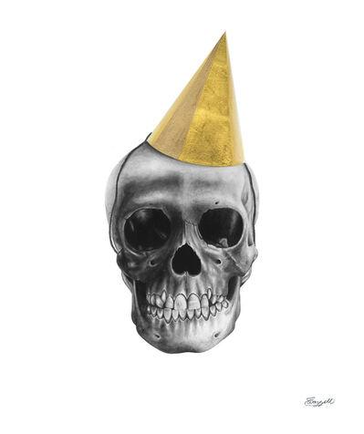 Elizabeth Waggett, 'Party skull', 2018