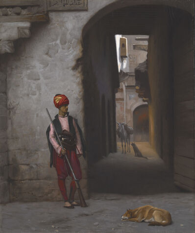 Jean-Léon Gérôme, 'The Guard ', 1889