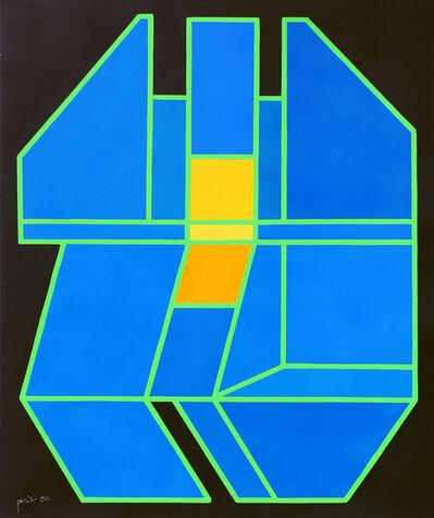 Achille Perilli, 'Il sordido tramonto', 2011