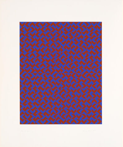 Anni Albers, 'GR I', 1970