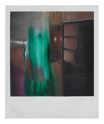 Martí Cormand, 'Green figure with Window', 2019