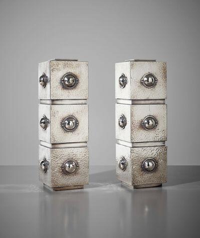 Jean Després, 'Important pair of vases', circa 1936