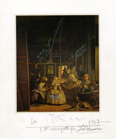 Joel-Peter Witkin, '1st maquette for Las Meninas', 1987
