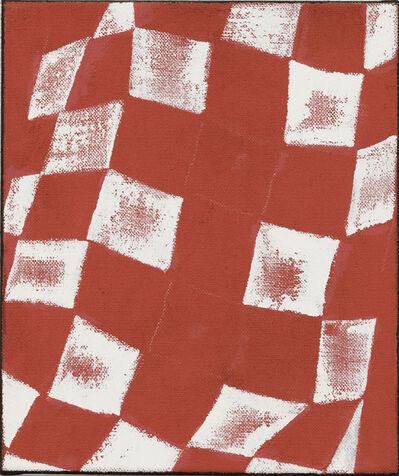 JCJ VANDERHEYDEN, 'Two Times Cross Red', 2002