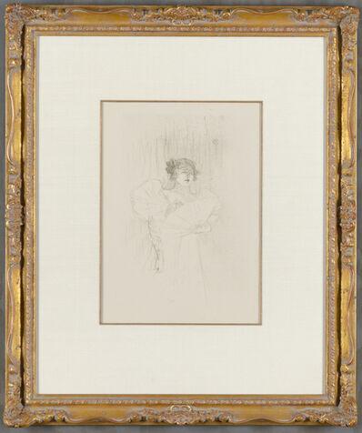Henri de Toulouse-Lautrec, 'Luce Myres, De Face ( Luce Myres, Front View)', 1895