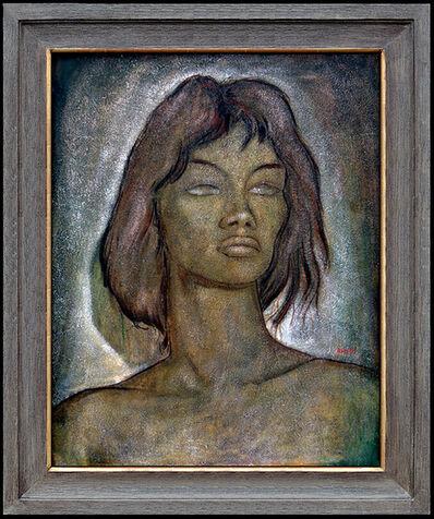 Angel Botello, 'Portrait of Olga', 1955-1960