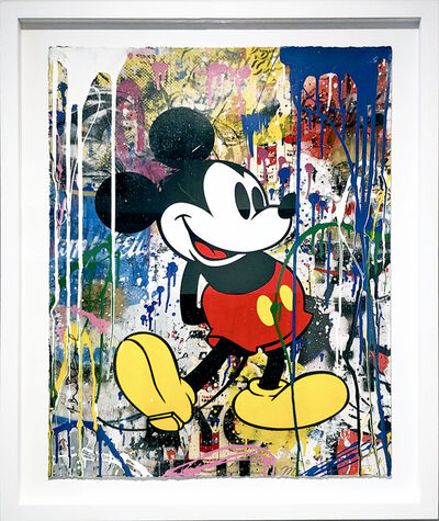 Mr. Brainwash, 'Mickey', 2018