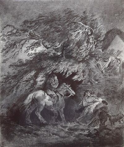 George Morland, 'The Storm', 1873