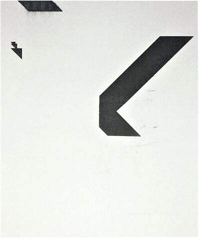 "Wade Guyton, '""X"" (Untitled, 2005, Epson Ultrachrome inkjet on linen), 2015, Signed and Numbered, Edition of 100', 2015"