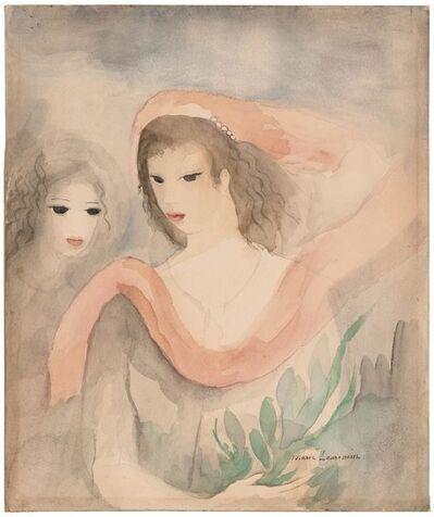 Marie Laurencin, 'Deux Tetes de Femmes'