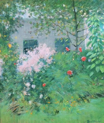 Theodore Wendel, 'A New England Garden',