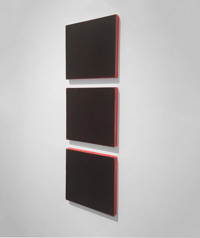 Ted Kurahara, 'Blacks Over Red', 1999