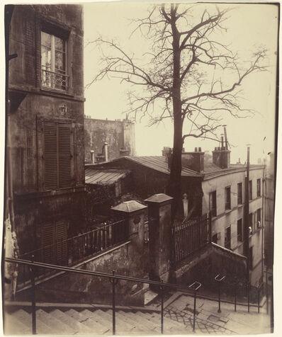 Eugène Atget, 'Staircase, Montmartre', 1921