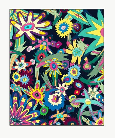 Michael Callas, 'Untitled (Psychedelic Flowers)', 2020