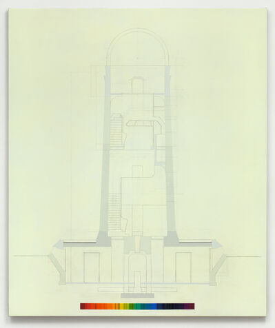 Alison Turnbull, 'Einstein's Tower', 2013