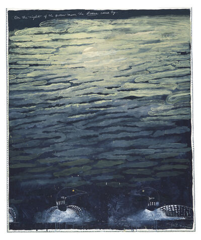 Robert Zakanitch, 'On the Night of the Yellow Moon the Loons Came By', 2015