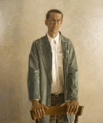 Paul Fenniak, 'Portrait of a Man in a Green Coat', 1995