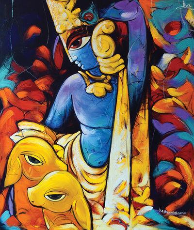 Sachindra Nath Jha, 'Dev(Shiva)', 2013