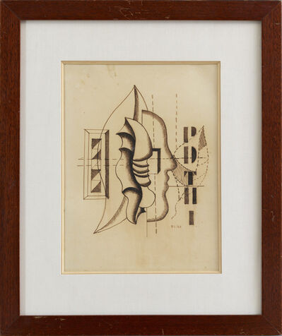 Fernand Léger, 'Coquillages et profil', 1928