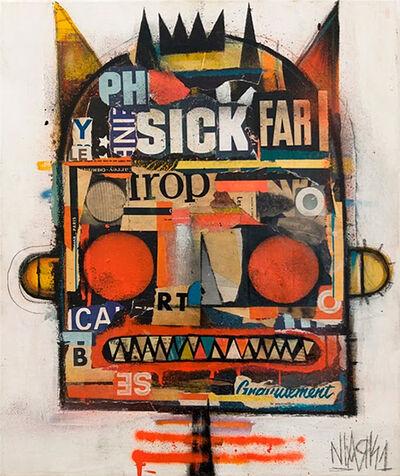 Niark1 Sebastien Feraut, 'SICK FAR', 2018