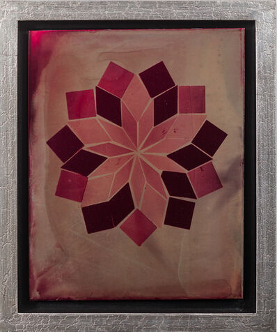 Juan Fernandez, 'Flower on Red Aluminum', 2017