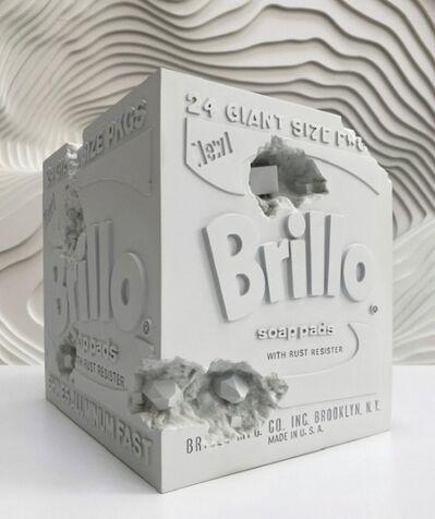Daniel Arsham, 'Eroded Brillo Box', 2020