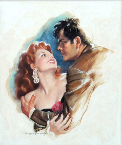 Bradshaw Crandell, 'Rita Hayworth & Glen Ford, Movie Poster Illustration', 1948
