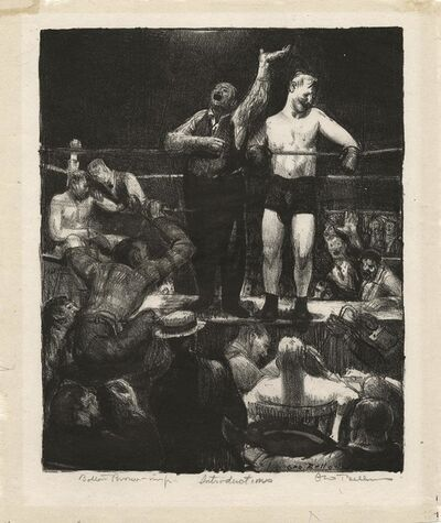 George Wesley Bellows, 'Introductions.', 1921