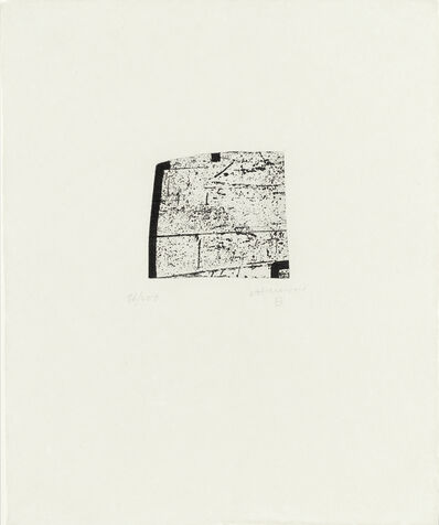 Eduardo Chillida, 'La Indetenible Quietud IV', 1998