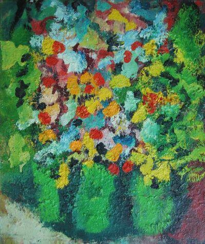 Aron Froimovich Bukh, 'Three green vases', 1998